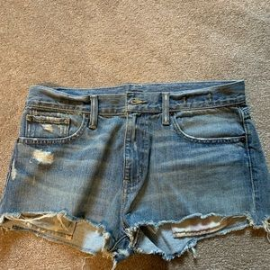 Ralph Lauren boyfriend cut off shorts